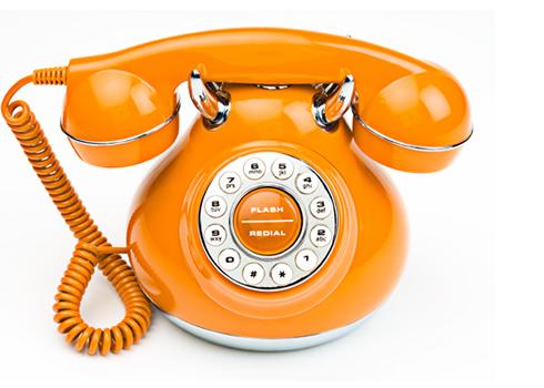Оранжевый телефон исполнения желаний