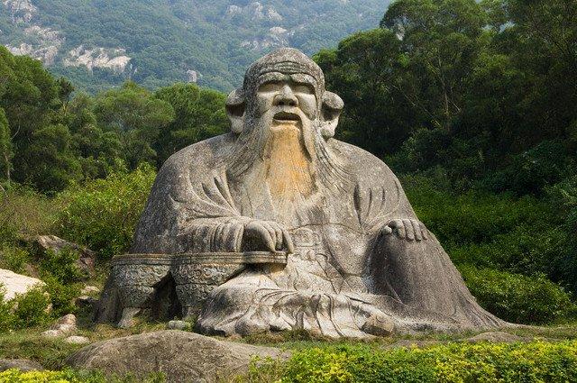 Статуя Лао Цзы