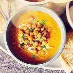 Суп-пюре из нута с морковью – отличное средство для утоления голода и оздоровления организма
