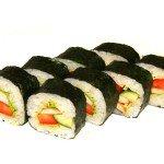 Вегетарианские роллы - рецепт японской кухни