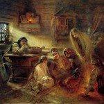 Святочные гадания как важнейшая обрядовая традиция на Руси