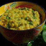 Дал со шпинатом – пикантное аюрведическое блюдо