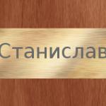 Значение имени – Станислав