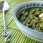 Палак-панир – новый вариант блюда из шпината