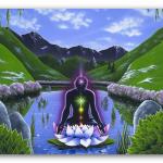 Сохранить энергетику после медитации
