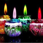 Изготовление и окраска свечей