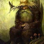 Леший суровый защитник лесов